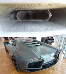 fake lamborghini remember the post about fake exhaust tips a while back well i