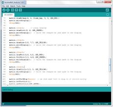 coding math patterns on an led grid math code u0027zine