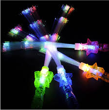 glow in the party supplies 1pcs glow fiber sticks led christmas new year party supplies