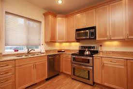 kitchen with light maple cabinets light maple kitchen cabinets maple cabinets with granite