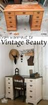 best 25 vintage desks ideas on pinterest chalk paint desk a craigslist find vintage desk is worn out and needing a lift a teenage