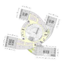 Floor Plan Business Second Floor Plan Of Impressive Fangda Business Headquarters
