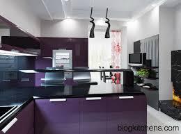 purple kitchen ideas modern purple kitchens kitchen design ideas