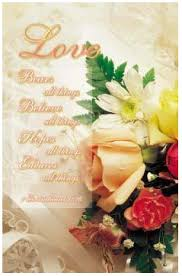 wedding bulletin covers is patient 1 corinthians 13 7 wedding program covers