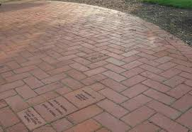 Basket Weave Brick Patio by Red Brick Patio Ideas Mytechref Com