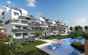luxury apartments with indoor pool and spa for sale in los dolses