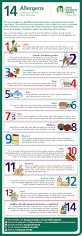 allergen labelling december 2014 allergies infographic and twitter