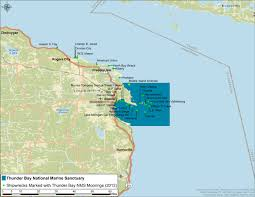 Port Huron Michigan Map by Thunder Bay 2013 Condition Report