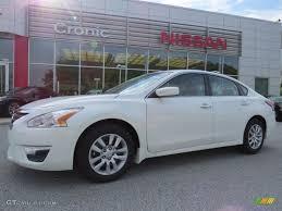 Nissan Altima 2014 - 2014 pearl white nissan altima 2 5 s 94807404 gtcarlot com