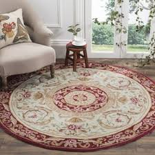 Round Burgundy Rug Safavieh Handmade Wyndham Charcoal New Zealand Wool Rug 7 U0027 Round
