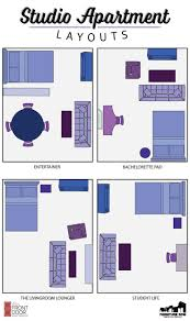 studio apartment layout ideas home design