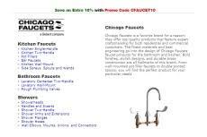 Chicago Faucet Shoppe Coupon Code 75 Off Chicago Faucet Coupons U0026 Promo Codes 2017 U2014 Dealspotr