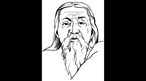 how to draw sri aurobindo ghosh face drawing step by step youtube