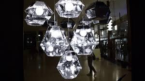 tom dixon multiplex cut pendant lighting chrome youtube