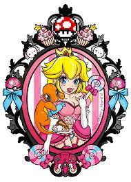 cartoon martini png princess peach pokemon tattoo by miss cherry martini on deviantart