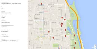Chicago Neighborhood Map Browse All Of Chicago U0027s Landmarks In One Interactive Map Curbed