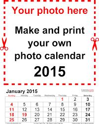 photo calendar 2015 free printable pdf templates