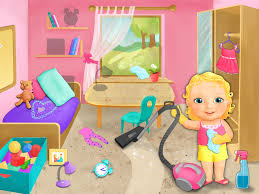 Cleaning Games For Girls Sweet Baby Cleanup Android Apps On Google Play