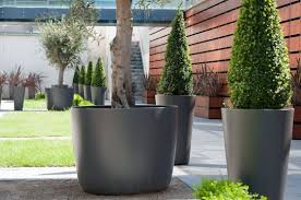 commercial planters large interior exterior and public realm