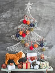 How To Put Christmas Lights On A Tree by 21 Unique Alternative Christmas Trees To Try Hgtv