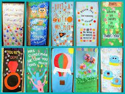 crafty sisters teacher appreciation door decorations 2013