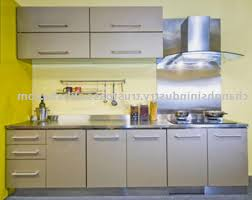 Metal Kitchen Cabinet Doors Metal Kitchen Cabinets White Cabinets Brown High Gloss Wood