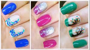diy nail polish nail art designs water marble nail art for