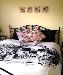 amazing skull sheets queen 31 on modern decoration design with