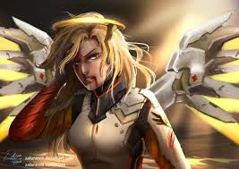 how to make halloween mercy desktop background i drew mercy 9 hours later what do you think overwatch