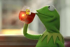 Tea Meme - the reason gma s tea lizard tweet was problematic