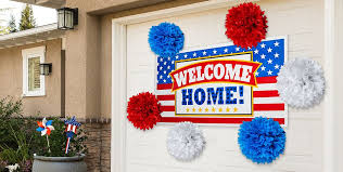 welcome home decorations welcome home party supplies patriotic military party supplies