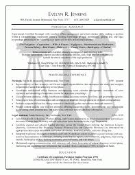 Free Resume Examples by Doc 564727 Entry Level Paralegal Resume Sample Resumecompanion