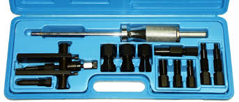 bination Blind Hole Bearing Puller and Replacer Set