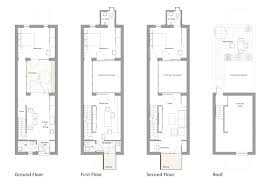 row housing plans home layout design free house style pinterest