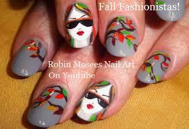 robin moses nail art fall fashionistas fall nail design