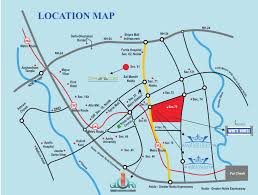 Noida Metro Route Map by Maxblis White House Ii In Sector 75 Noida Price Location Map