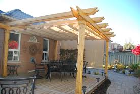 Pergola Mosquito Net by Colonial Pergola Attached To Deck Added Nesling Shade For Sun