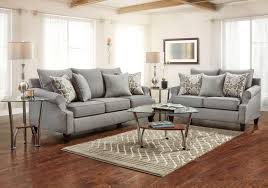 gray living room sets lacks harper gray 2 pc living room set