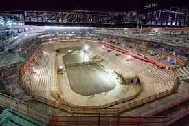 latest little caesars arena project construction cost 862 9