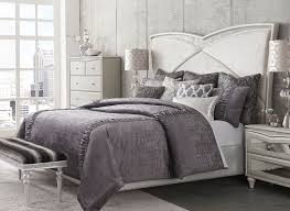 Michael Amini Oppulente Collection Michael Amini Melrose Plaza Upholstered Bed Usa Warehouse Furniture