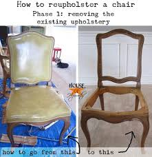 How To Reupholster Dining Chair How To Upholster A Dining Chair Phase 1 Removing Old Upholstery