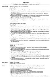 big data hadoop resume senior big data engineer resume samples velvet jobs