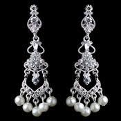clip on chandelier earrings clip on bridal earrings clip on silver gold earrings special