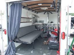 motocross bike trailer enclosed trailer setup