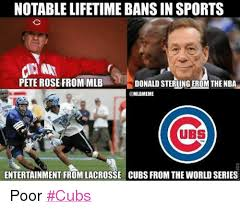 Donald Sterling Memes - notable lifetime bans in sports pete rose from mlb donald sterling