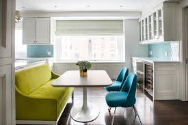 Lime Green Dining Room Green Dining Room Settee Contemporary Kitchen