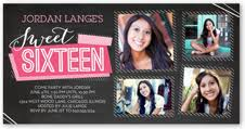 sweet 16 birthday invitations shutterfly