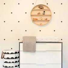 small polka dots wall decal