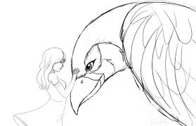 and bird sketch by sawuinhaff on deviantart
