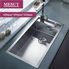 cheap kitchen sink faucets kitchen marvelous stainless steel sink with drainboard kitchen